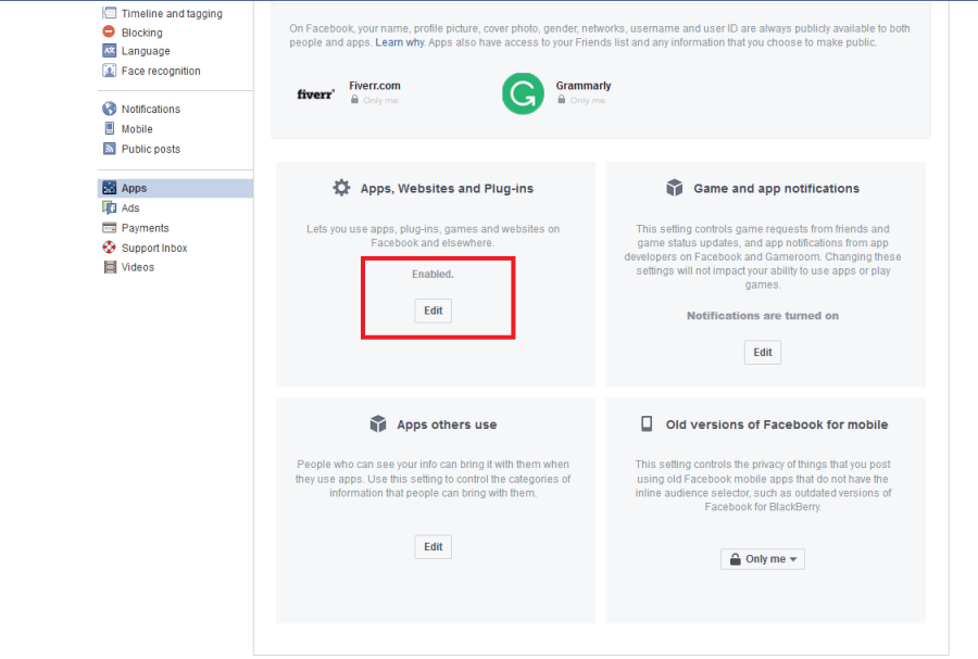 Plugin-Sicherheit Facebook
