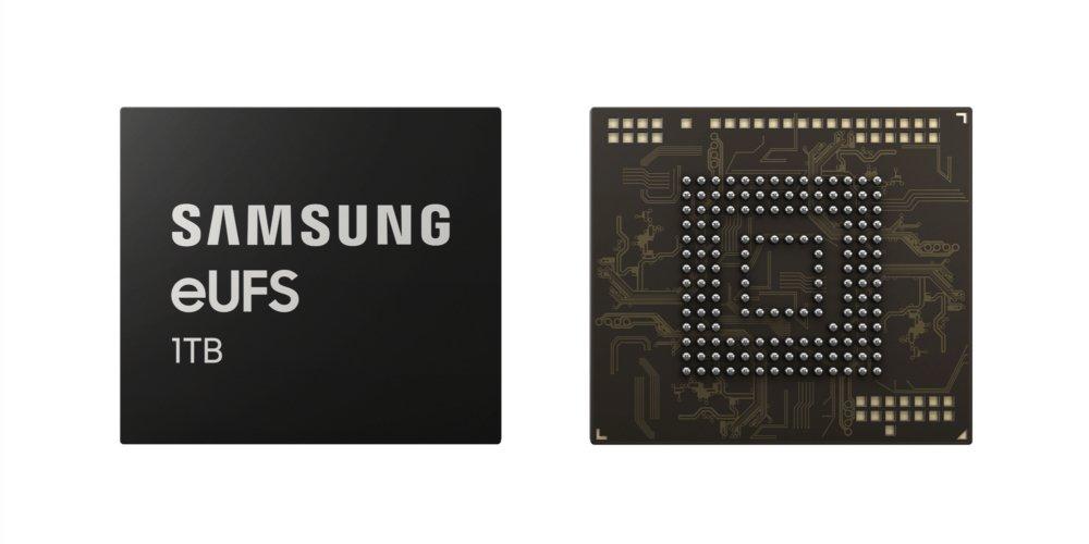 Samsung 1 TB eUFS-Speicher wird vorgestellt