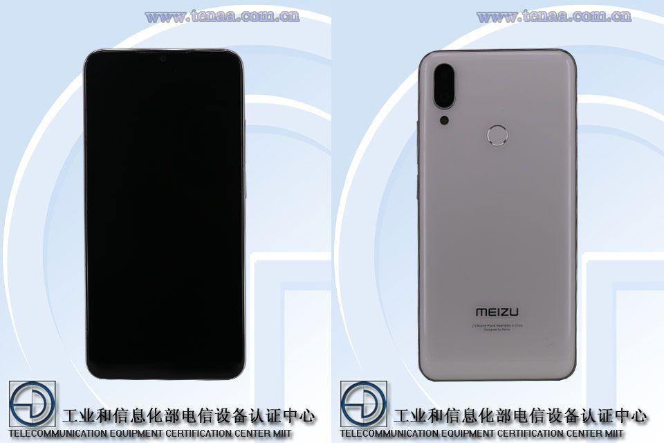 Meizu Anmerkung 9 TENAA