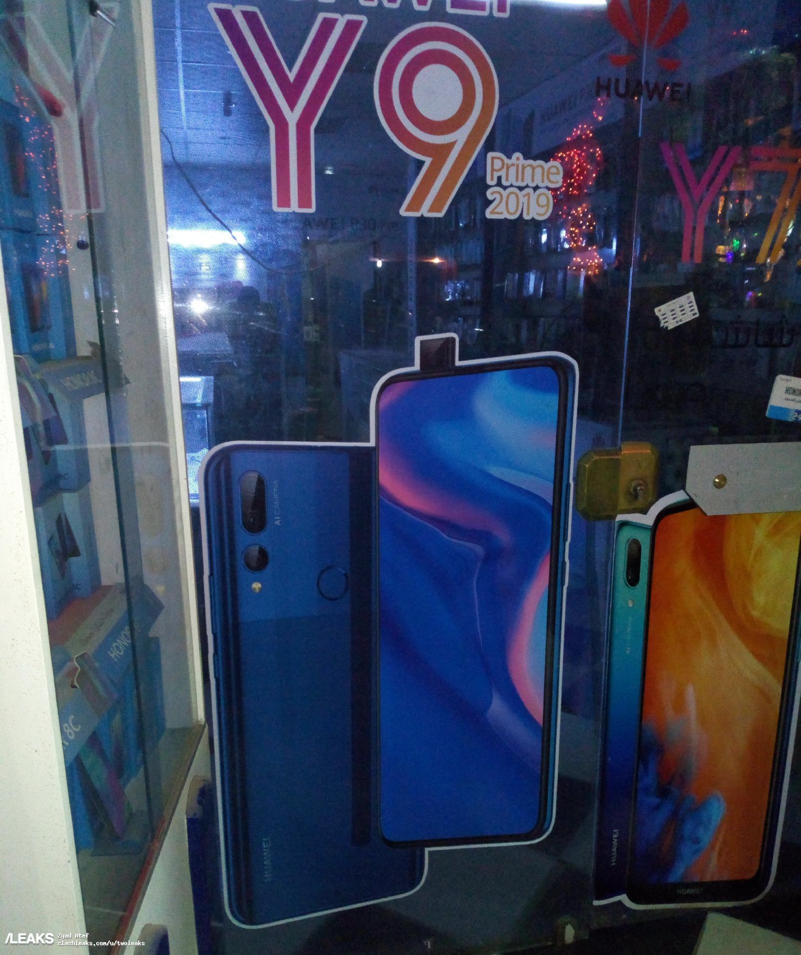 Huawei Y9 Prime 2019 Poster