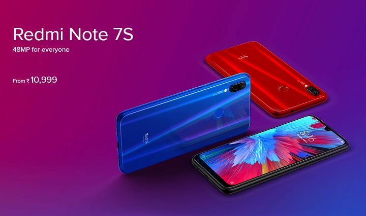 Redmi Note 7S vorgestellt