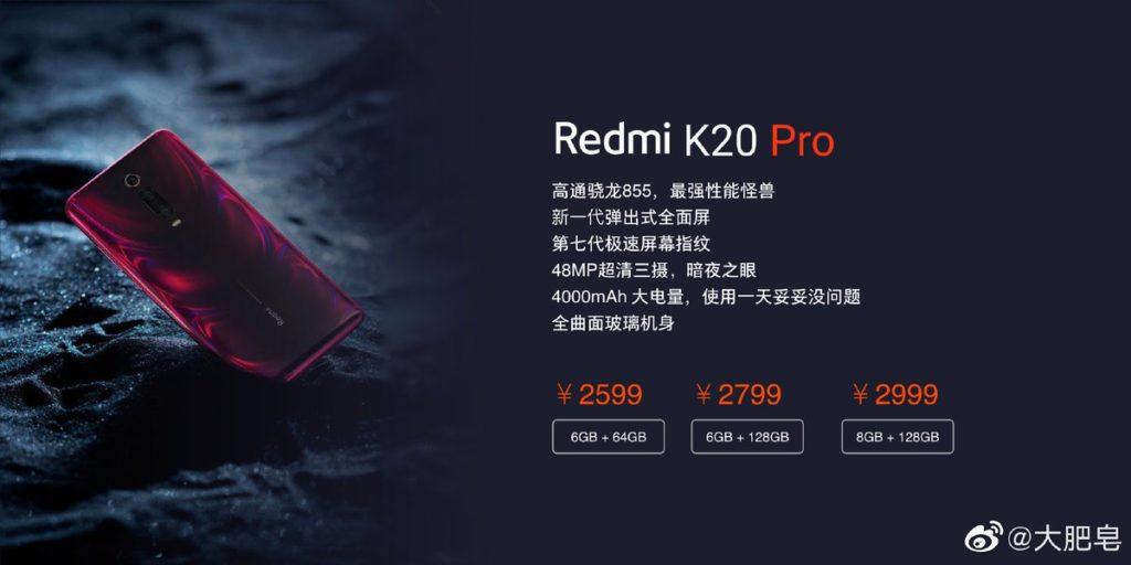 Redmi K20 Pro Preisleck