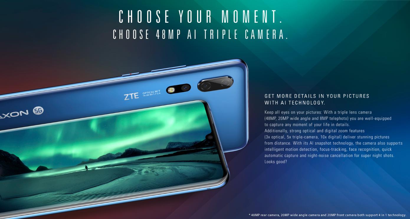 ZTE Axon 10 Pro-Kamera