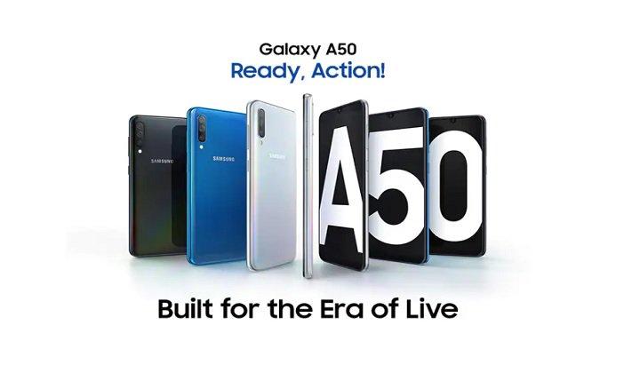 Galaxy A50 Vorgestellt