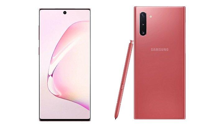 Samsung Galaxy Note10 Pink vorgestellt