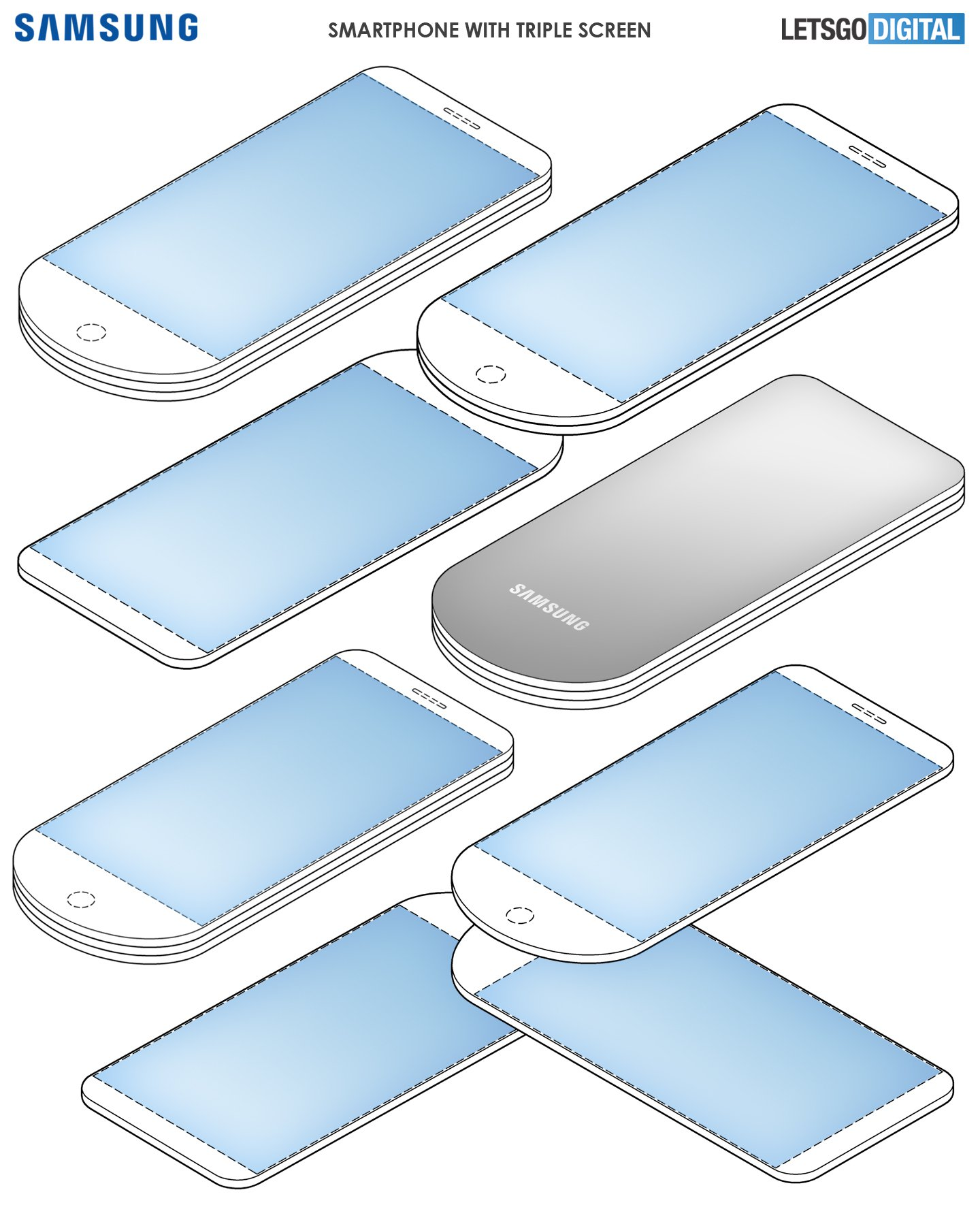 Samsung Triple Display Patent