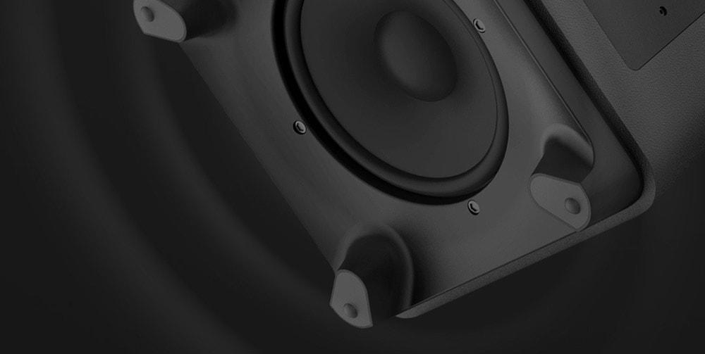 WEMAX S1 Subwoofer-Lautsprecher für WEMAX / Mijia-Laserprojektionsfernseher (Xiaomi Ecosysterm Product) - Schwarz