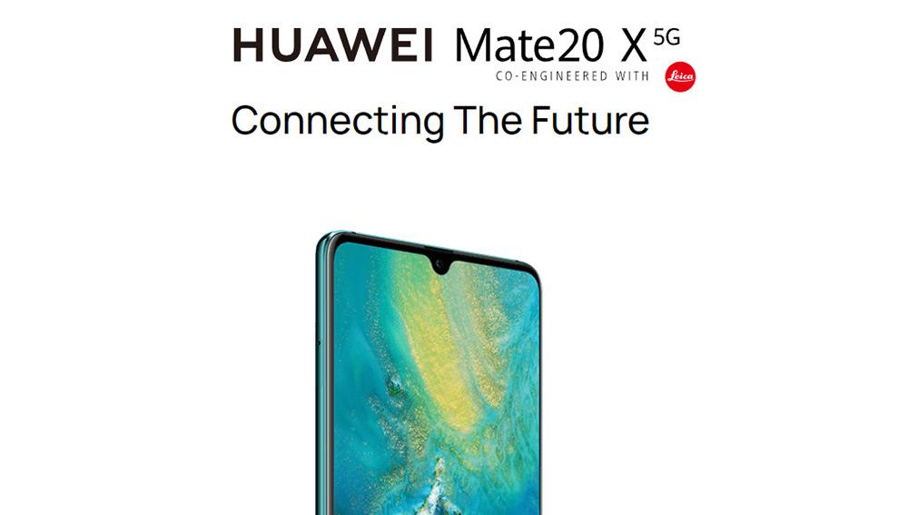 "HUAWEI Mate20 X 5G Smartphone 7,2 ""Ultra großes OLED-Display Kirin 980 + Balong 5000 8 GB 256 GB 40,0 MP Leica Triple Cameras 4200 mAh Akku 40 W Supercharge - Smaragdgrün"