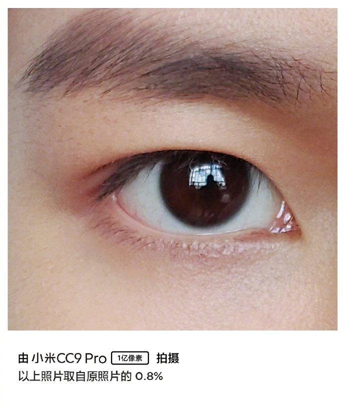 mi cc9 pro 0.8 pc Bild zuschneiden