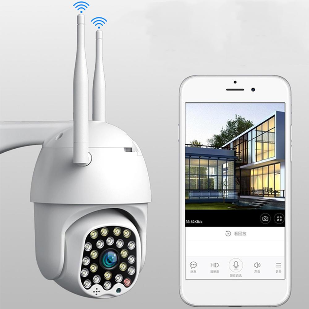 Bakeey 23 LED 5MP 1080P Smart Dome Geschwindigkeitskamera