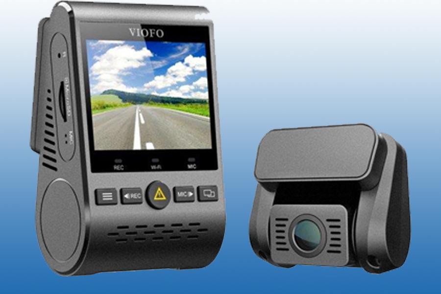 Viofo A129-DG Duo Dual-Kanal 5 GHz Wi-Fi Full HD Auto Dash Dual-Kamera DVR mit GPS