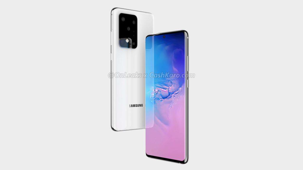 Galaxy S11 Plus rendern