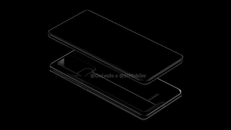 Huawei P40 Pro rendern