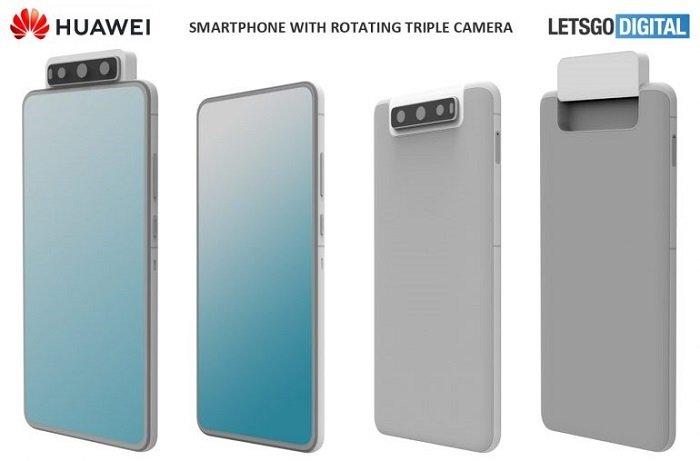 Huawei Patent Flip Kameras