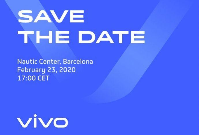 Vivo MWC 2020 23. Februar Veranstaltung