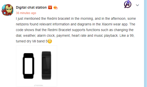 Redmi Fitness Tracker Funktionen