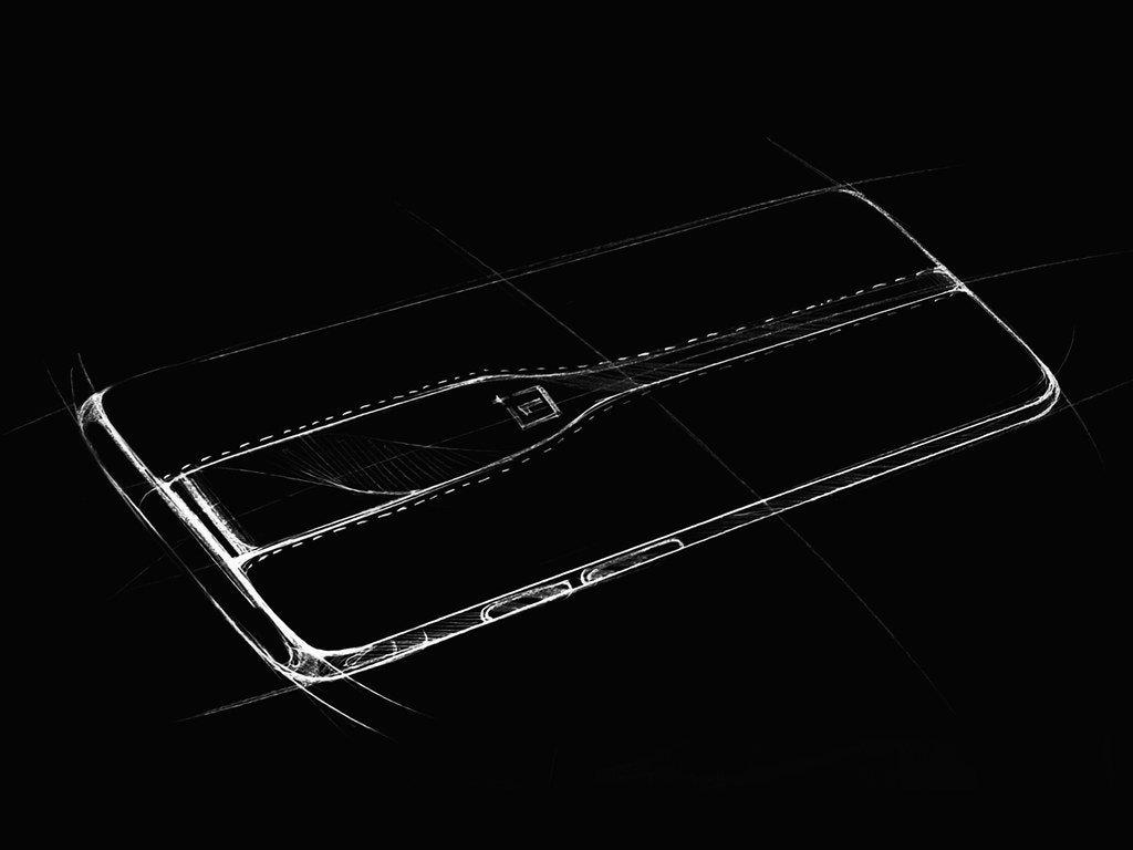 OnePlus Concept Eine Skizze