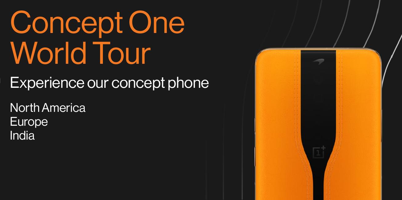 OnePlus Concept Eine Weltreise