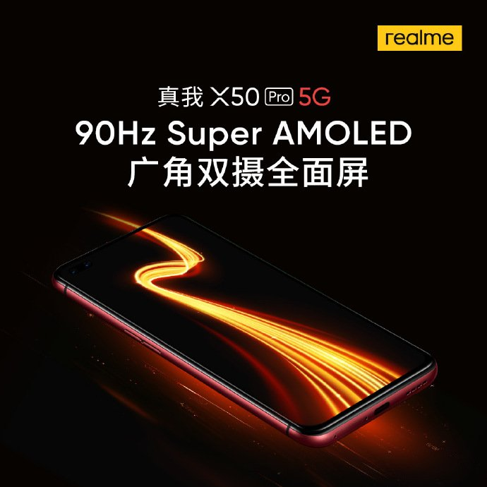 Realme X50 Pro 5G Display