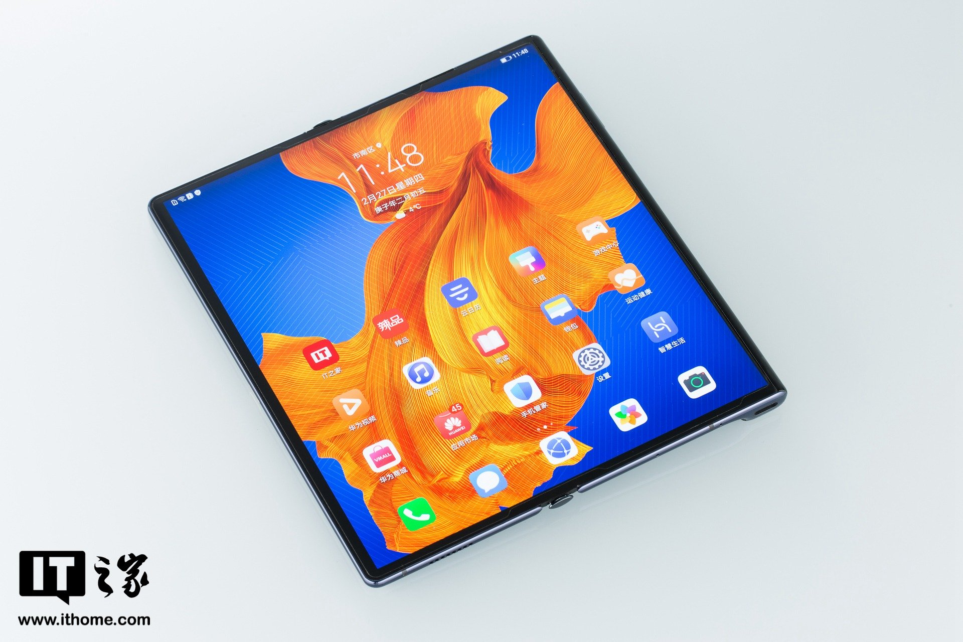 Huawei Mate Xs Display entfaltet