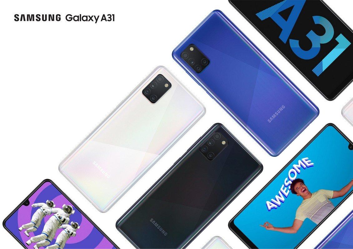 Galaxy A31 vorgestellt