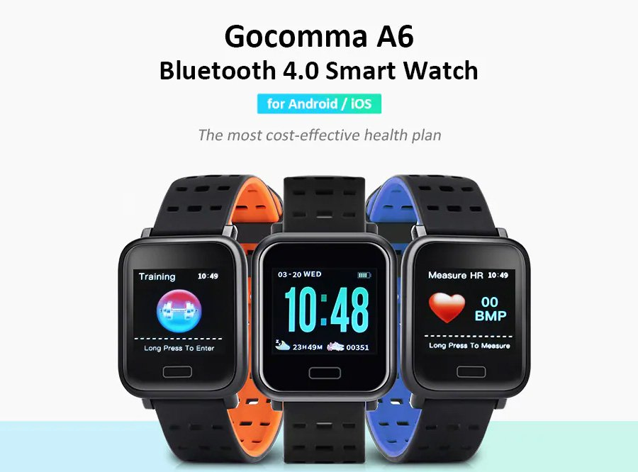 Gocomma A6 Sports Smart Watch