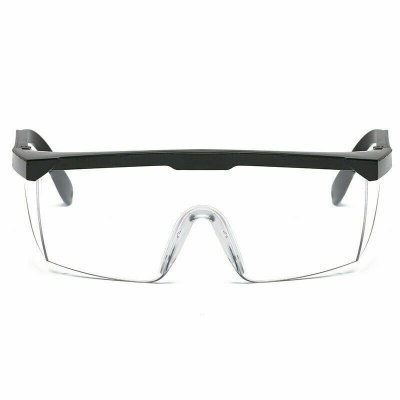 Anti-Virus-Schutzbrille Verstellbare Beinschutzbrille Work Lab Anti-Fog Clear Lens Anti-Tröpfchen-Brille