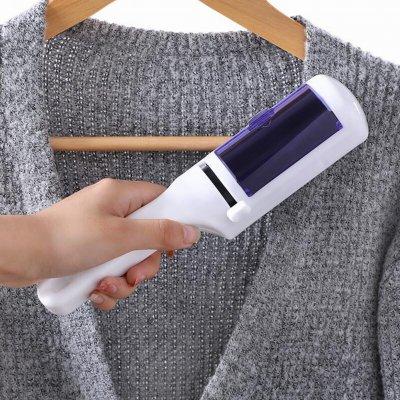 Haustierkleidung Mantel klebrig Fusselrolle entfernen