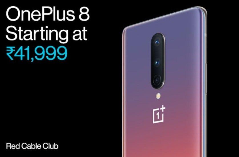 OnePlus 8 indischer Preis