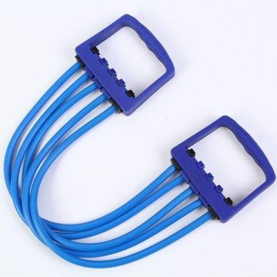 5 Widerstandsbänder Pull Rope Training Chest Expander für Bewegung und Fitness