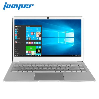 Jumper EZbook X4 Laptop 14 Zoll IPS Metallgehäuse Notebook Intel Celeron J3455 6 GB 128 GB Tastatur mit Hintergrundbeleuchtung 2.4G / 5G Wifi Silver_Europäische Vorschriften
