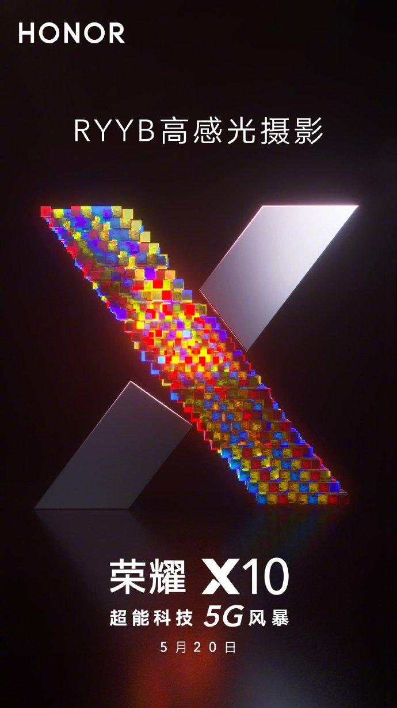 Ehren X10 RYYB Sensor