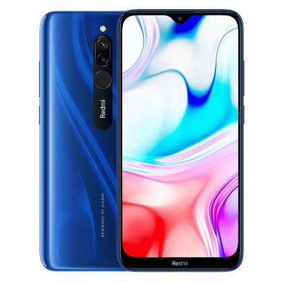 Xiaomi Redmi 8 Global ROM blue_4 + 64G