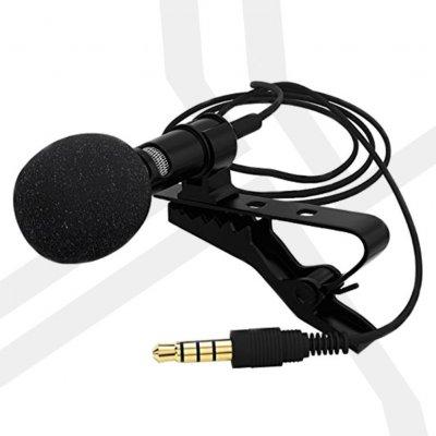 3,5-mm-Clip-On-Verpackung für Mini-Revers-Lavalier-Mikrofon-PE-Beutel