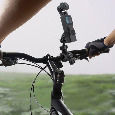 FIMI PALM Kamera Fahrradhalterung Fahrrad Motorradhalterung für FIMI PALM Action Cam Standrahmen Clip für GoPro Cam schwarz
