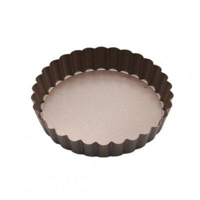 Antihaft-abnehmbarer Eierkuchen-Kuchenform-Kuchenform-Pizzateller-Backblech-Backwerkzeuge Gold 5,5-Zoll-runder Teller