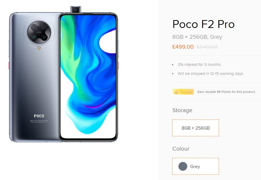 POCO F2 Pro UK