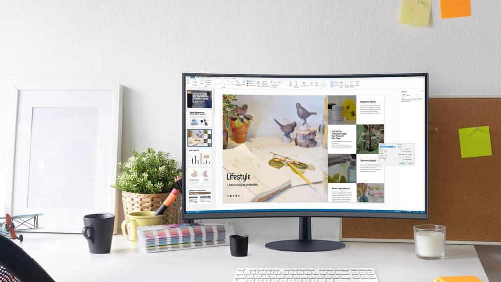 Samsung Monitor vorgestellt