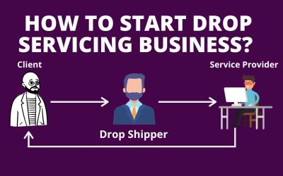 Drop-Service-Geschäft