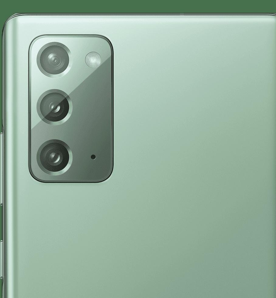 Galaxy Note20 grün