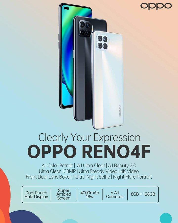 OPPO Reno4 F.