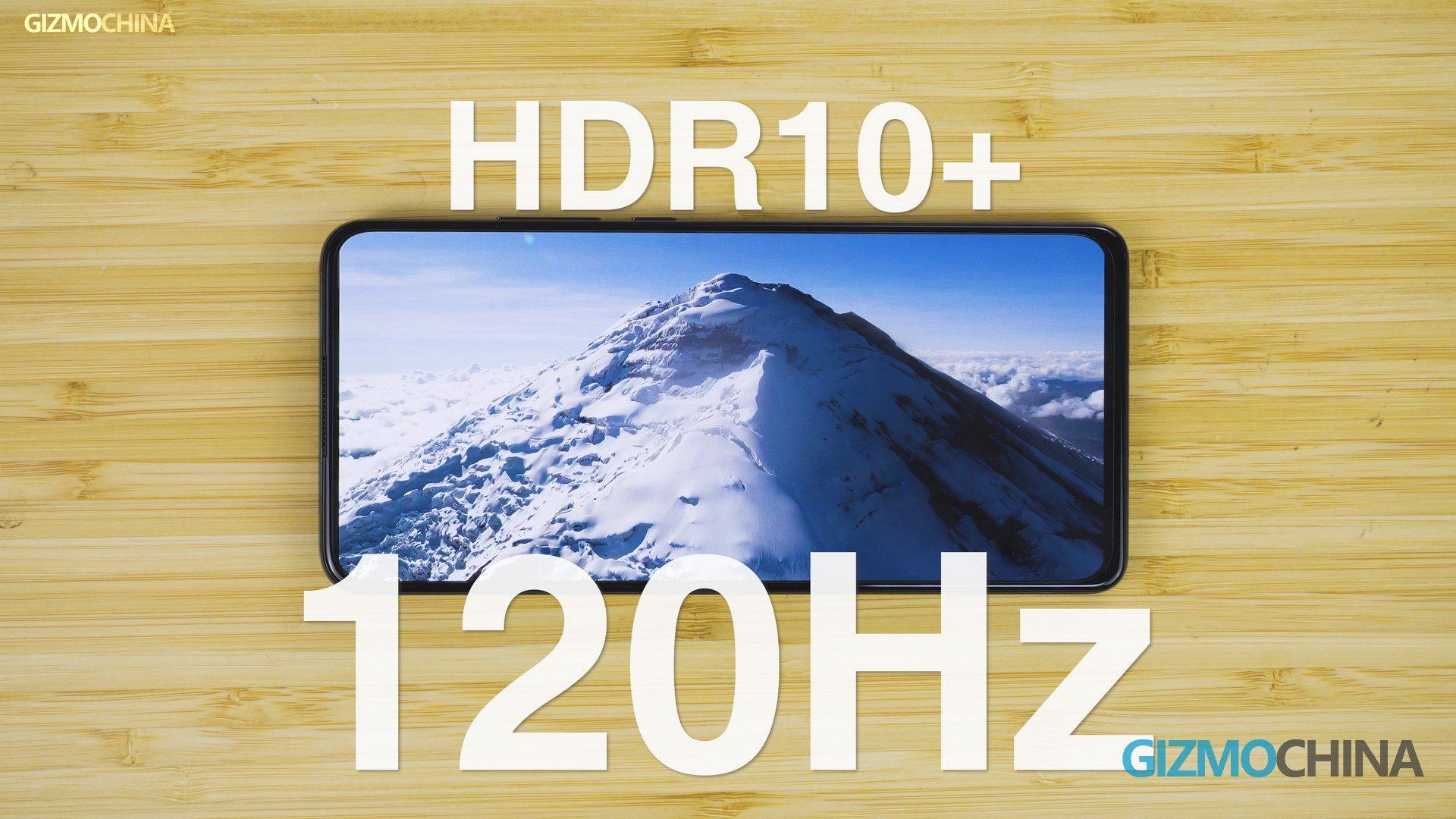 Die Bildwiederholfrequenz des Redmi K30 Pro Ultra Review mit 120 Hz ist hoch