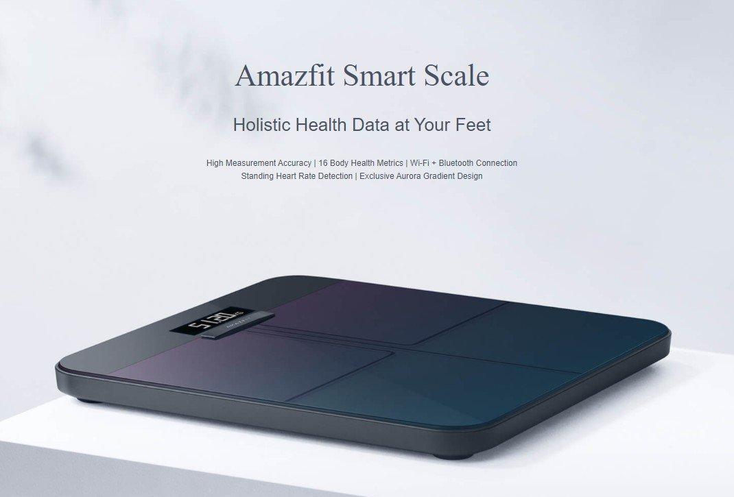 Amazfit Smart Scale vorgestellt
