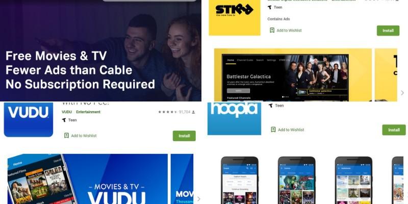 Streaming-Apps ähnlich wie Pluto TV