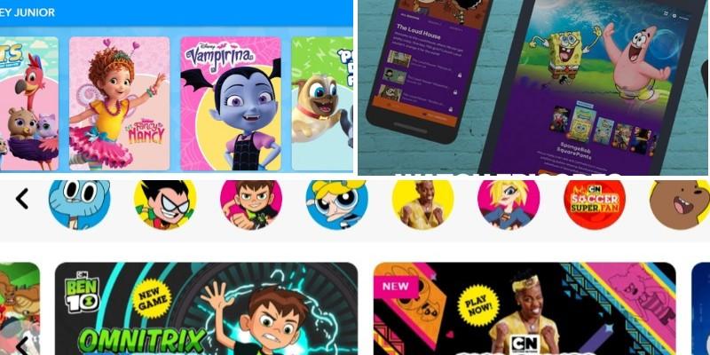 Online-Websites zum Anschauen von Cartoons (legal)