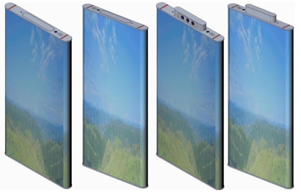 La última patente de Xiaomi nos muestra como podría ser el Xiaomi Mi Mix 4. Noticias Xiaomi Adictos