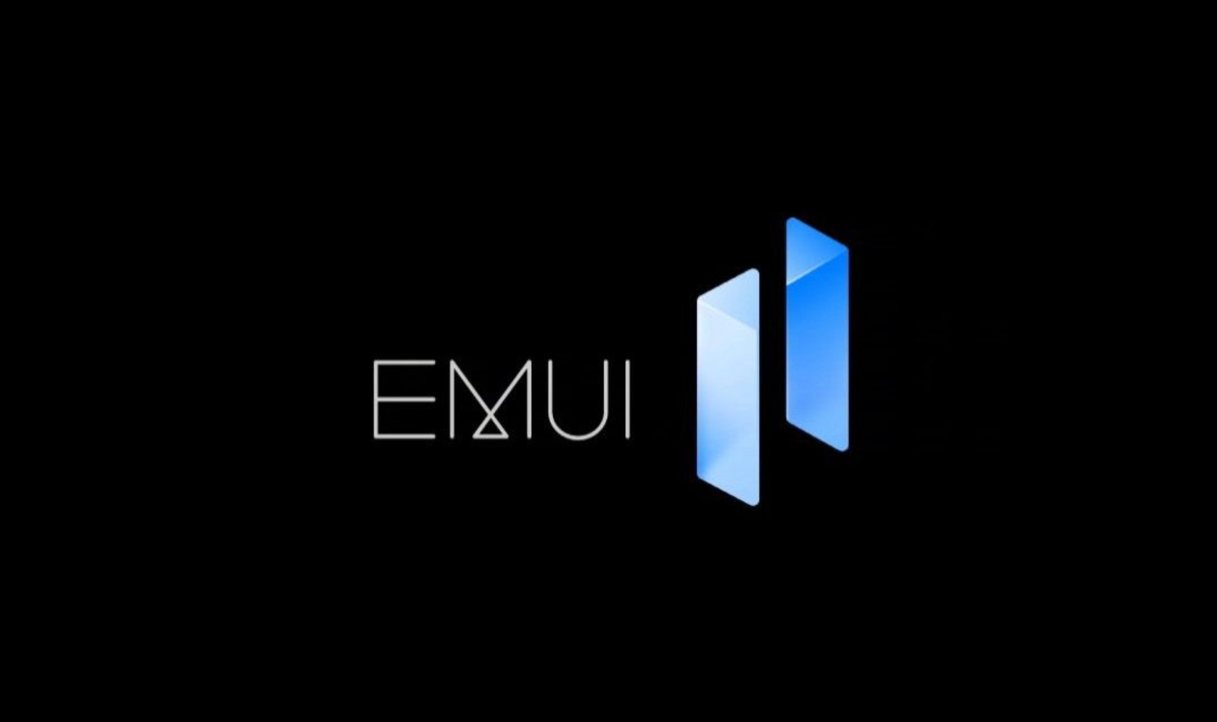 HUAWEI EMUI 11 Logo Hervorgehoben