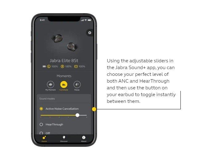 Jabra Sound + App