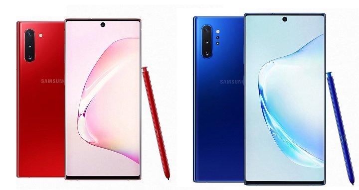 Galaxy Note 10-Serie vorgestellt