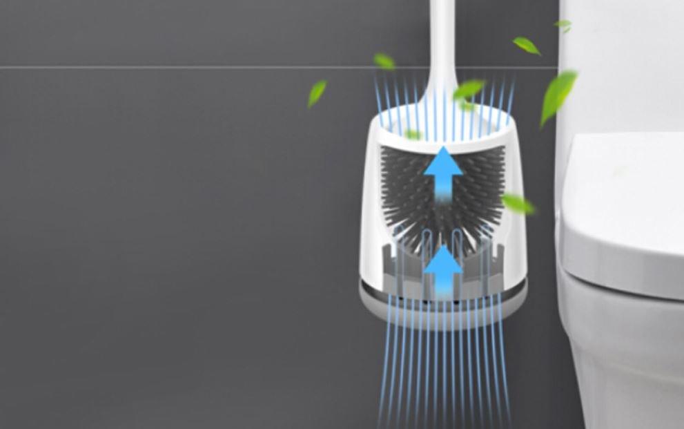Diese von Xiaomi vertriebene Toilettenbürste desinfiziert sich selbst und dreht sich zur besseren Reinigung. Nachrichten Xiaomi Addicts